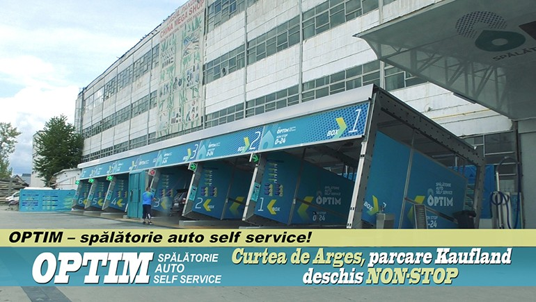 OPTIM – spălătorie auto self service