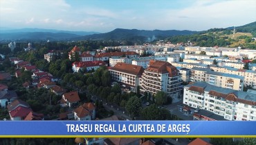 Traseu regal la Curtea de Argeș